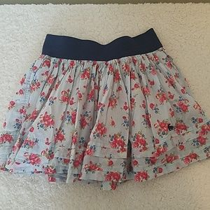 Girls flowered skirt by Abercrombie